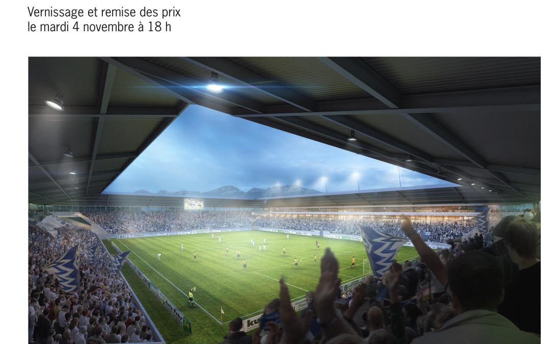 Exposition du concours «Métamorphose: Un stade de football à la Tuilière»