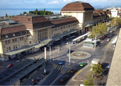 Pôle Gare: MEP Place de la Gare